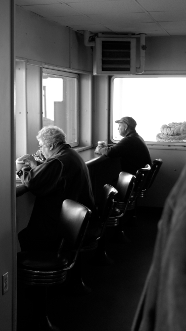 On The Morning Ferry