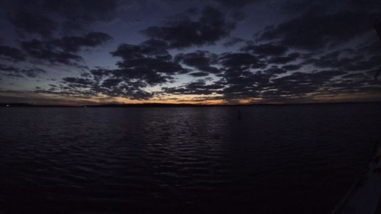 Breaking Dawn at Little Creek Oyster Farm